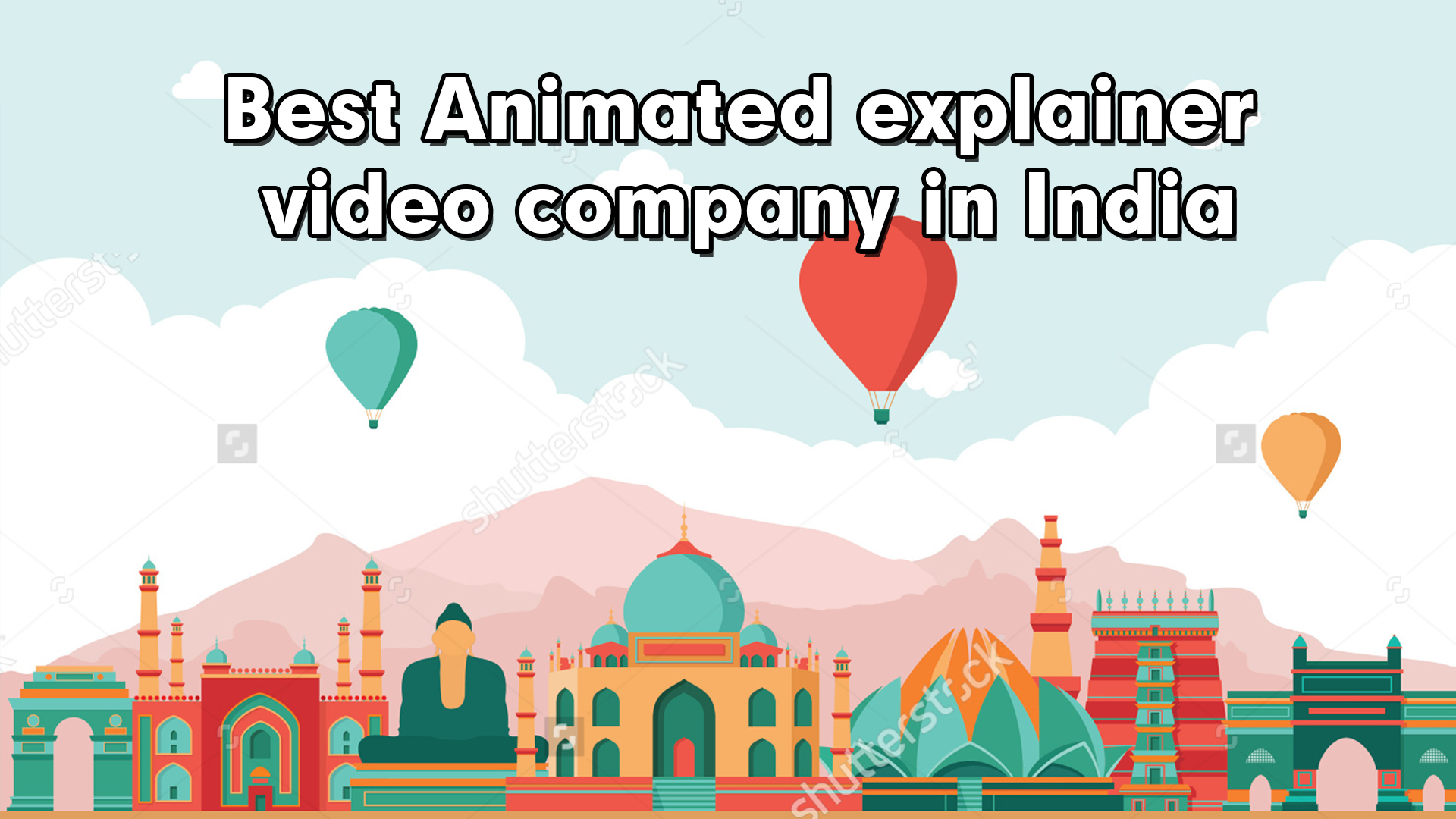 Best Animated explainer video company in India
